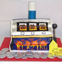 Blazing 7's Slotmachine