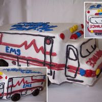 Ambulance I made this for an EMT's birthday.
