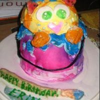 Cat In A Paint Can This was a cake I made for my cousins birthday. She is a fan of both cats and painting. I tried using that marshmellow fondant for the...