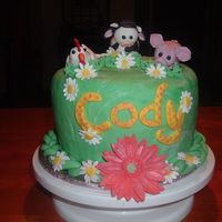 Practice Cake For My Dd 2Nd B-Day This is the type/theme of cakr I was considering making for my DD Dakota's 2nd B-Day in July...so I thought I would practice. The...