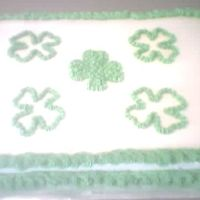St. Patrick's Day This was a last min. throw together cake for everyone at work. Simple but good.