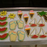Aha Bake Sale  Cookies I made for AHA bake sale at work. Martha Stewart sugar cookies, Alice's icing. Many thanks to all you supported and advised me...