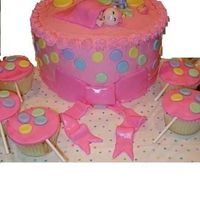 Baby Shower   Buttercream & fondant accents
