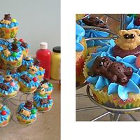 Have A Beary Cool Summer! These are cupcakes I made for my son's preschool class the last day of school. I got the idea from bettycrocker.com and made a few...