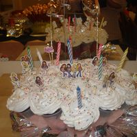 Cupcake Bouquet, Bratz chocolate cupcake bouquet... bratz is the theme of the party