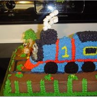 Thomas Safari Train  My 4 year old loves Thomas and he loves animals, so for his birthday, we did Thomas on Safari. My first attempt at molding animals. The...