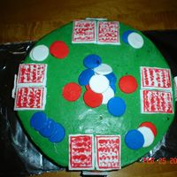Cakes_007.jpg This is a cake idea that I got from this web site. It was for my father's birthday. It was a chocolate cake with bc icing. I used mmf...