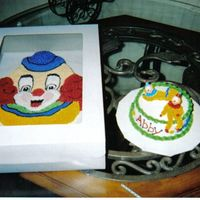 Clown Cakes Baby's First Birthday