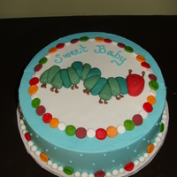 The Very Hungry Caterpillar Lots of inspiration from this site on how to make the caterpillar. My client's theme was The Very Hungry Caterpillar.