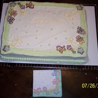 Cake & Napkin   This is a picture of the previous cake with the napkin