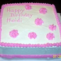 100_2387.jpg I did this cake for a friend's daughter for her birthday . It was last minute so I couldn't do as much as I wanted to. I wasn&#...