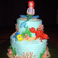 Under The Sea  My four year old granddaughter wanted Ariel, so I did my best--but she didn't think the Ariel looked very good. Not realistic enough--...