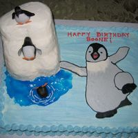 Happy Feet Cake