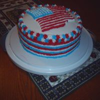 4Th Of July Cake