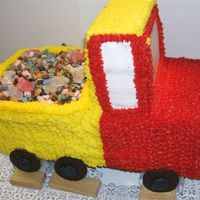 Dumptruck Cake   one view