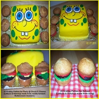 Spongebob Squarepants & Krabby Patty Cupcakes
