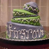Firgrove This is my first time trying to do a topsy turvy cake. I had a lot of fun with it. My son's school had a dessert auction that I made...