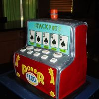 Video Poker Machine his was for my Father inlaws Birthday he has always been a big video poker player.