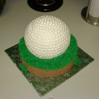 Dimpled Golf Ball For the golf enthusiast...