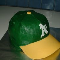 Baseball Cap Even though my heart belongs to another team, my friend had asked for an Oakland A's cap for her husband's bithday. This is what...