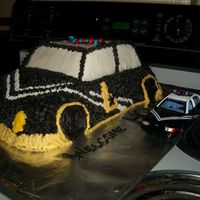 Idaho State Police Cruiser One our our ttroopers just transferred back to our area, so his Sgt. asked me to make a cake for their team meeting. I thought this would...