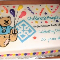 Hospital Anniversary I'm a nurse at the Children's Hospital in Winnipeg, Manitoba. I was honored to be asked to make this cake to celebrate the...