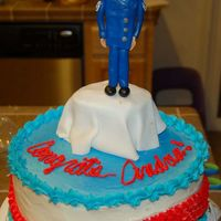 Promotion I did this cake for a friend who was promoted!