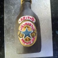 Newcastle Brown Ale Cake made last year for my mums boyfriends birthday!
