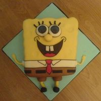 Sponge Bob Square Pants The first cake I did that I ever sold!