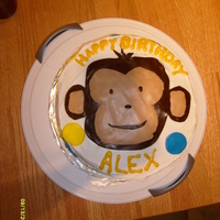 Monkey Cake   Thanks to Nicoles-a-tryin for the idea, I used the same theme for my son's party, although its not nearly as good as hers.
