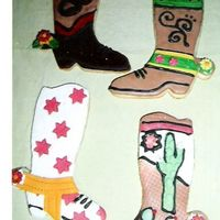 Cowboy Boots Cookies