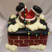 Funny Santa Cake Had a lot of fun making this one! Got the idea from someone here i am so sorry i cant remember your name, but thank you so much for the...