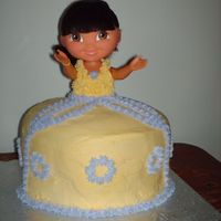 Dora Cake   This was for my neice's 3rd birthday. She loved it!