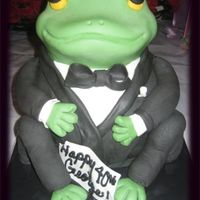 Mr. Frog I made this cake for my brothers 40th birthday. I followed the instructions from one of Debbie Browns books, it was fairly easy to make, I...