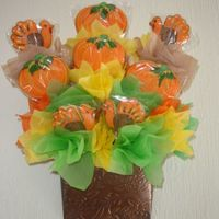 Thanksgiving Cookies This cookies looks very nice on thanskgiving celebratios.