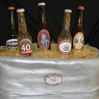 Sugar Beer Bottle Cake Thanks so much to SweetResults for all of the help and guidance on this one. I finally got it done! I wasn't exactly 100% happy with...