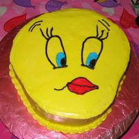 Tweety Birthday Cake Just a little something for my SIL's birthday....Didn't come out quite the way I wanted it to...