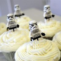 Storm Trooper Cupcakes Lego Storm Troopers