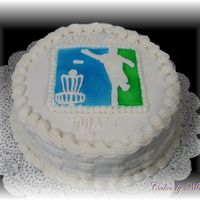 Matt Pdga Birthday A friend of mine loves to play Disc Golf and recently joined the Professional Disc Golf Association. I did this cake for him, but am not...