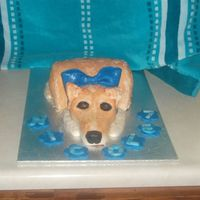 Trixie This cake was for Nicole she wanted a dog cake that looked like her own Collie cross. Took me forever to get the fur colour and texture...