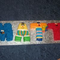 Sesame Street Cake This cake was inspired by CakeMommyTx. It was such a cute idea I just had to try it. It was a big hit and not too hard to do!
