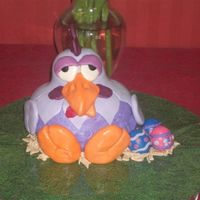Easter Chicken Thanks to het_bonte_taartje for the inspiration my fondant work is nowhere neat as hers but I still like how it turned out. I made the...