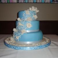 Rose Trellis I made this cake for my cousin. Hope you like it