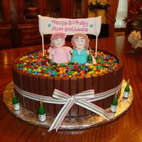 Barrel Of Candy This is a cake i made for a party this past weekend for my mom and sister. I needed something quick and easy, and this was it. I loved how...