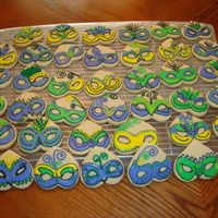 Masks I was planning on making some really cute grad cookies for my neice who is graduating from grade 8 and had a bunch of potential ideas on...