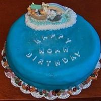 Smash Cake Here is a cake I did for my son'd Birthday. Cake is a chocolate fudge ribbon cake.