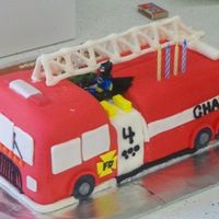 Fire Truck Got lots of ideas from cakes here on CC!