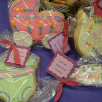 Baby Shower Cookies These were the cookies that went with the baby shower tower!
