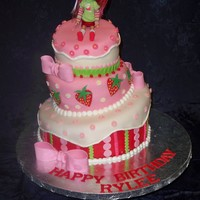 Strawberry Shortcake I picked a few of my favorite ideas from cakes on here and made this cake. I couldn't figure out what the problem was until I uploaded...