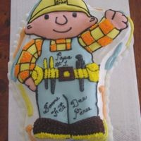 Bob Brico This cake is in fondant with buttercream icing